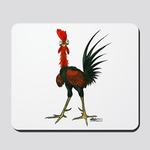 Crazy Rooster Mousepad