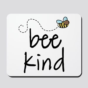 Be Kind Garden Bee Mousepad