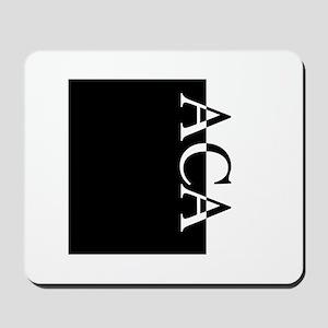 ACA Typography Mousepad
