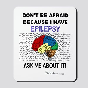 ASK ME ABOUT IT Mousepad