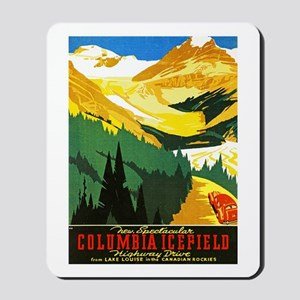 Canada Travel Poster 7 Mousepad
