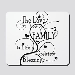 Love of Family Mousepad