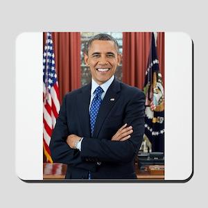 Official Presidential Portrait Mousepad