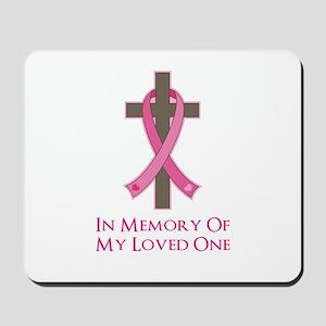 In Memory Cross Mousepad