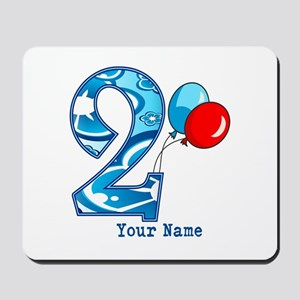 2nd Birthday Personalized Mousepad