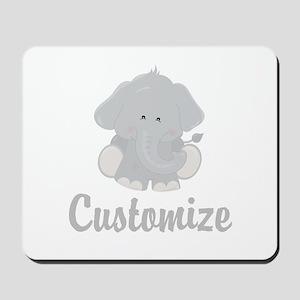 Baby Elephant Mousepad