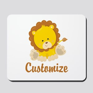 Custom Baby Lion Mousepad