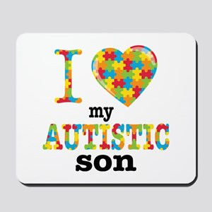 Autistic Son Mousepad