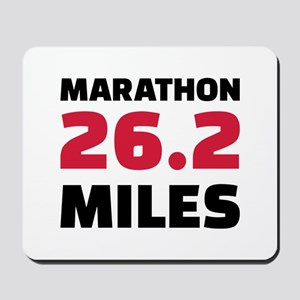 Marathon 26 miles Mousepad