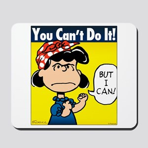 Lucy the Riveter Mousepad