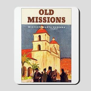 Mission Santa Barbara Mousepad