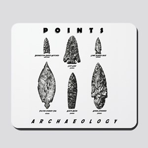 "Archaeologist ""Point"" Mousepad"