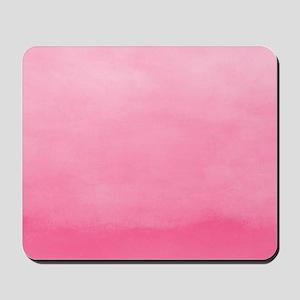 Bubblegum Ombre Watercolor Mousepad