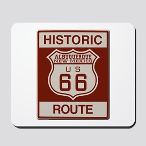 Albuquerque Route 66 Mousepad