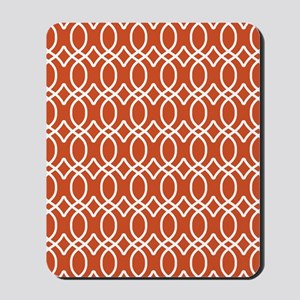 Ogee Links 5x7 White Pumpkin Mousepad