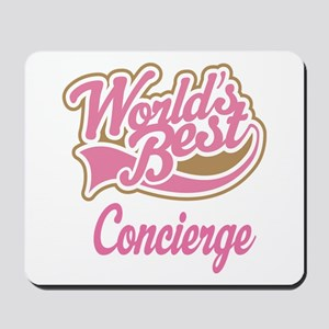 Concierge Gift (Worlds Best) Mousepad