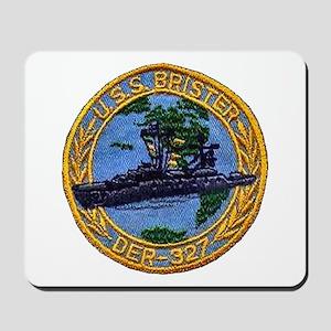 USS BRISTER Mousepad