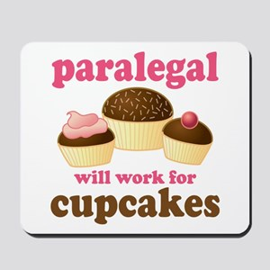 Funny Paralegal Mousepad