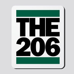 The 206 Mousepad