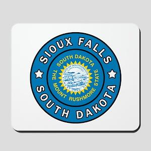 Sioux Falls South Dakota Mousepad