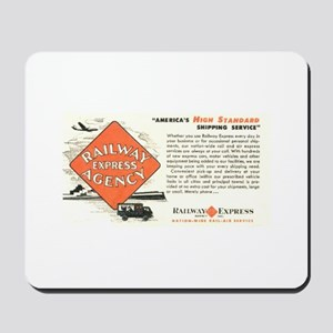 Railway Express Agency 1948 Mousepad