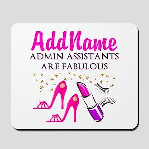 BEST ADMIN ASST Mousepad