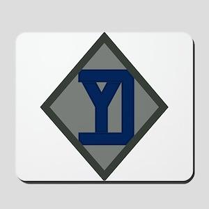 26th Infantry Yankee Div Mousepad