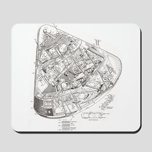 Apollo Cutaway Mousepad