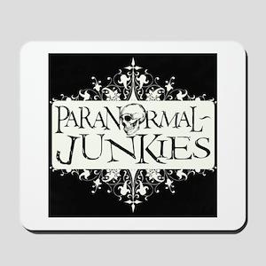 Paranormal-Junkies Logo Mousepad