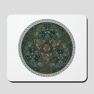 Celtic Trefoil Circle Mousepad