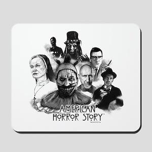 American Horror Story Characters Mousepad