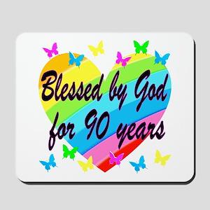 90TH PRAYER Mousepad