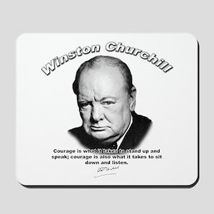 Winston Churchill 01 Mousepad