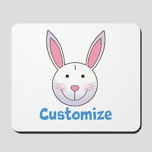 Custom Easter Bunny Mousepad