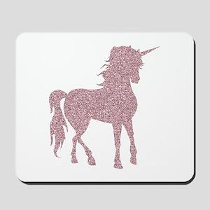Pink Unicorn Mousepad