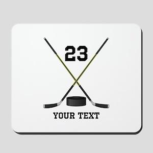 Ice Hockey Personalized Mousepad