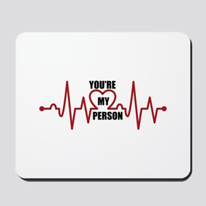 Grey's Anatomy My Person Mousepad
