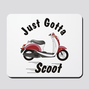 Just Gotta Scoot Metro Mousepad