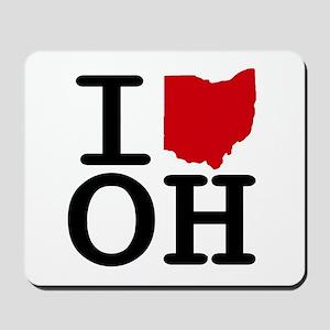 I Heart Ohio Mousepad
