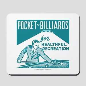 Pocket Billiards Mousepad