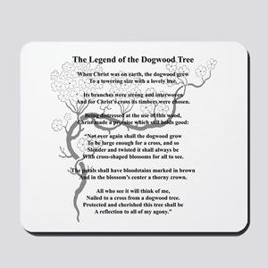 """Dogwood Tree Legend"" Mousepad"