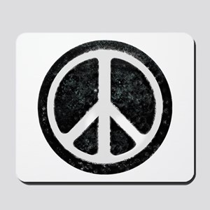 Original Vintage Peace Sign Mousepad