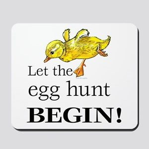 Easter egg hunt Mousepad