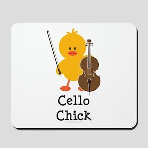 Cello Chick Mousepad