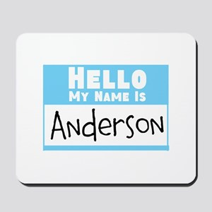 Personalized Name Tag Mousepad