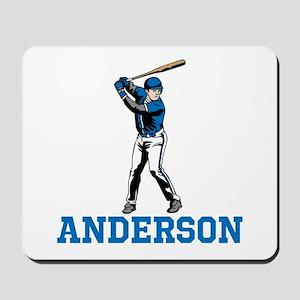 Personalized Baseball Mousepad