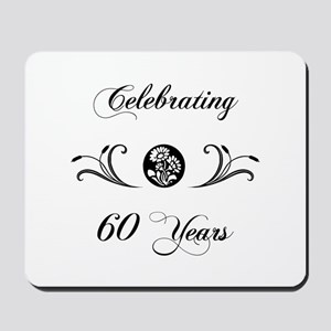60th Anniversary (b&w) Mousepad