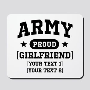 Army grandma/grandpa/girlfriend/in-laws Mousepad