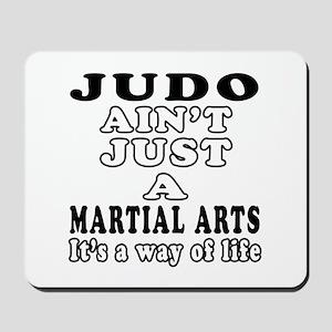 Judo Martial Arts Designs Mousepad