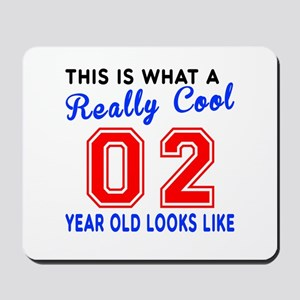 Really Cool 02 Birthday Designs Mousepad